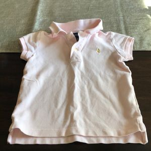 4t girls Ralph Lauren polo top